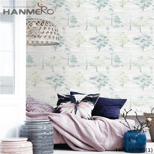HANMERO Non-woven Awesome Pastoral Technology Landscape Children Room 0.53*10M wallpaper supply store