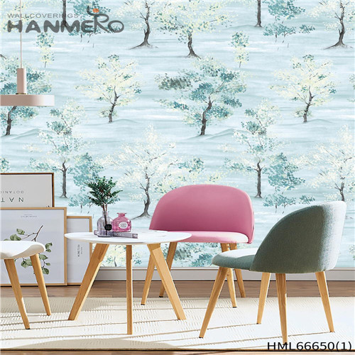 HANMERO Non-woven Awesome Landscape Pastoral Technology Children Room 0.53*10M decorative paper wall