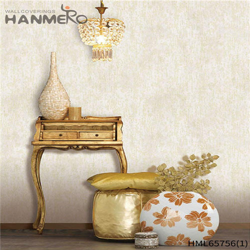 HANMERO Non-woven High Quality 0.53M Bronzing European Living Room Flowers decorative wallpapers for walls
