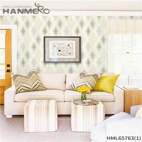 HANMERO Non-woven High Quality Flowers Bronzing 0.53M Living Room European wallpaper in wall