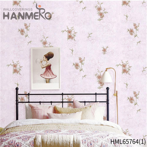 HANMERO Non-woven High Quality Flowers Bronzing European 0.53M Living Room wall murals online