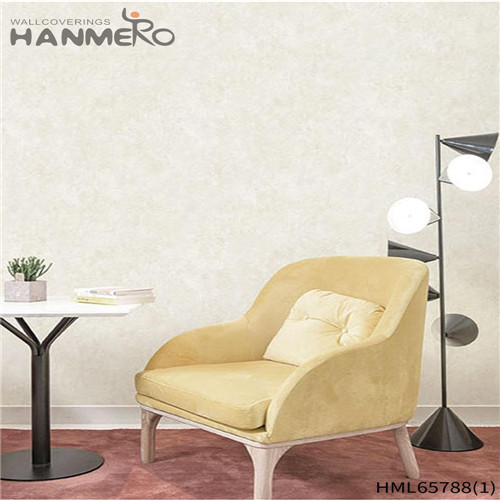 HANMERO European High Quality Flowers Bronzing Non-woven Living Room 0.53M wallpaper in bedroom designs