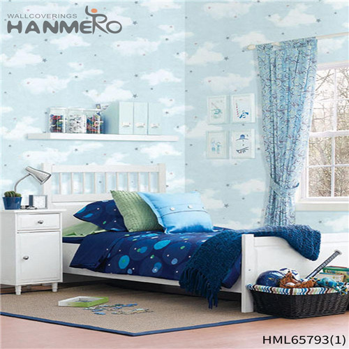 HANMERO Non-woven High Quality European Bronzing Flowers Living Room 0.53M wallpaper in store