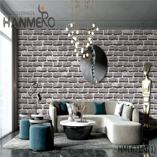 HANMERO wallpaper for the home Durable Brick Technology Chinese Style Theatres 0.53*10M PVC