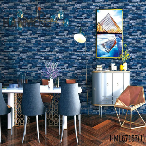 HANMERO PVC Durable country wallpaper Technology Chinese Style Theatres 0.53*10M Brick