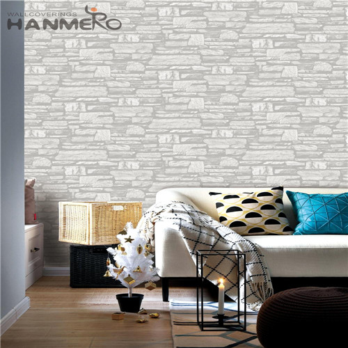 HANMERO PVC Durable Brick online wallpaper store Chinese Style Theatres 0.53*10M Technology
