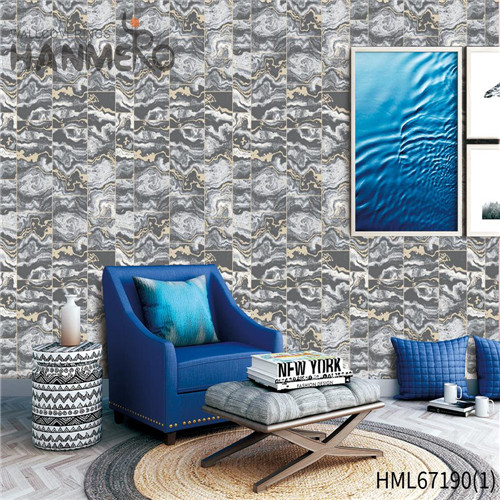 HANMERO PVC Durable Brick Technology 0.53*10M Theatres Chinese Style wall covering wallpaper