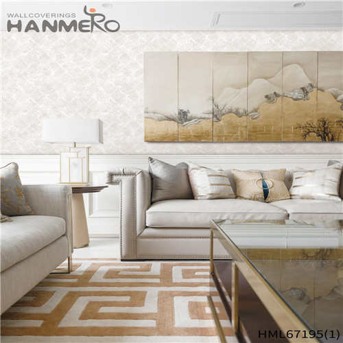 HANMERO Theatres Durable Brick Technology Chinese Style PVC 0.53*10M wallpaper borders for sale