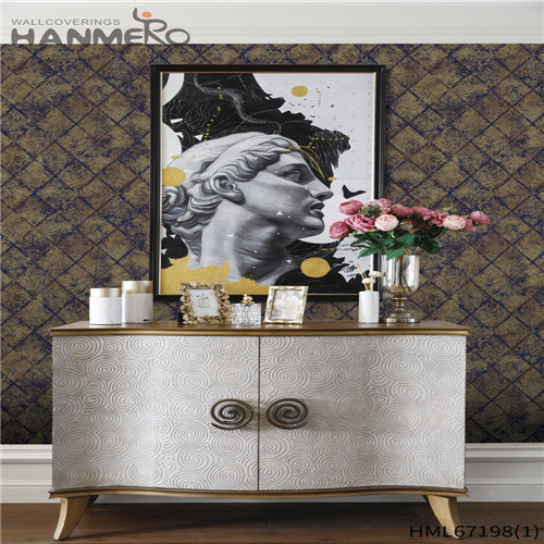 HANMERO PVC Theatres Brick Technology Chinese Style Durable 0.53*10M design of wallpaper for wall