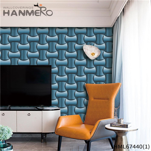 HANMERO wallpaper for bedroom walls Strippable Geometric Technology Classic Saloon 0.53*10M PVC