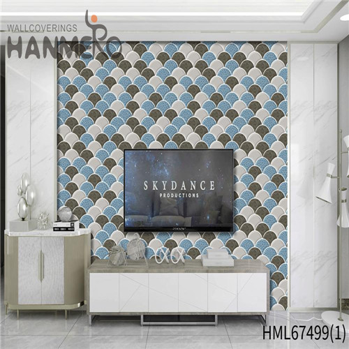 HANMERO PVC Saloon Geometric Technology Classic Strippable 0.53*10M online wallpapers for home