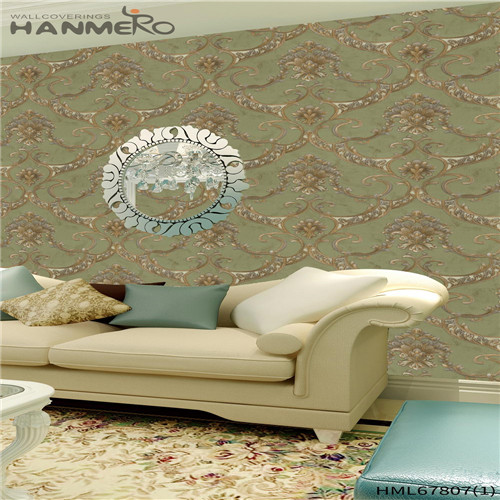HANMERO vintage wallpaper Affordable Landscape Deep Embossed Chinese Style Household 0.53M PVC