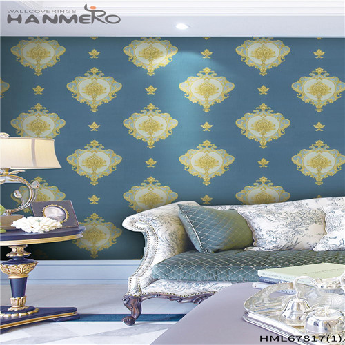 HANMERO PVC Affordable Landscape Deep Embossed online wallpaper Household 0.53M Chinese Style