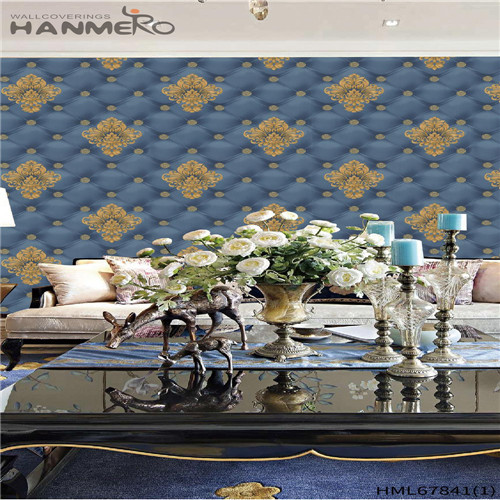 HANMERO PVC Household Landscape Deep Embossed Chinese Style Affordable 0.53M home design wallpaper