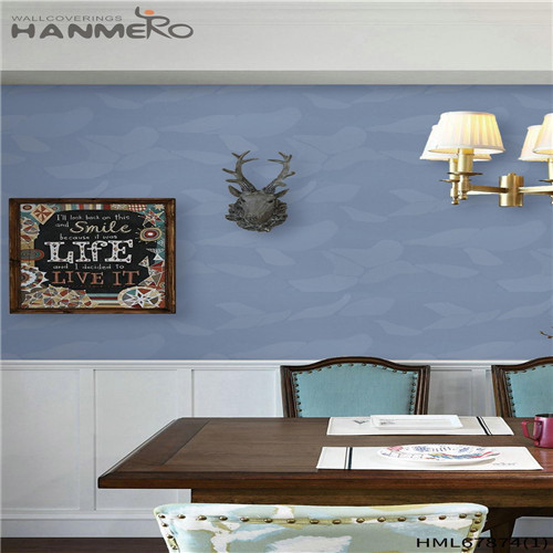 HANMERO Deep Embossed Affordable Landscape PVC Chinese Style Household 0.53M wallpaper for your room