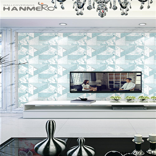 HANMERO Affordable PVC Landscape Deep Embossed 0.53M wallpaper for home design Chinese Style Household