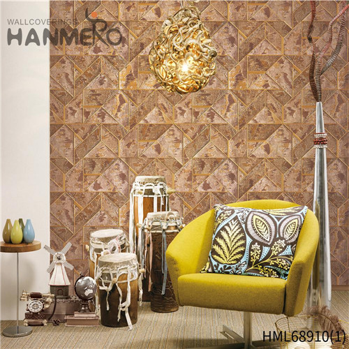 HANMERO PVC Seamless 1.06*15.6M Technology European Nightclub Geometric online wallpapers for home