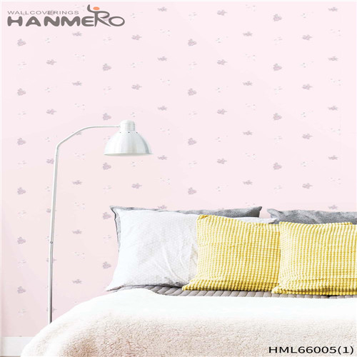 HANMERO Living Room Fancy Floral Bronzing Pastoral Non-woven 0.53M bedroom wallpaper for sale