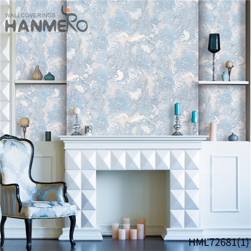 HANMERO PVC The Lasest Geometric unusual wallpaper for home European Hallways 1.06*15.6M Technology