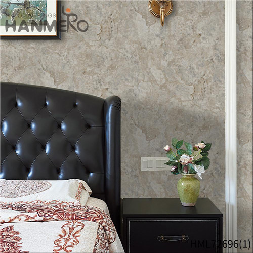 HANMERO 1.06*15.6M The Lasest Geometric Technology European Hallways PVC design of wallpaper for wall