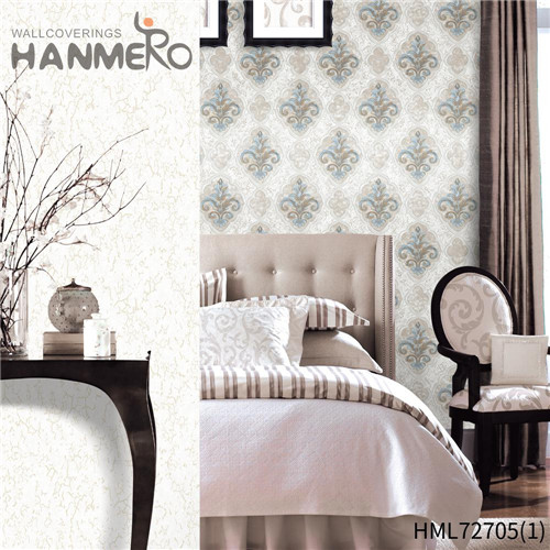 HANMERO PVC The Lasest Geometric 1.06*15.6M European Hallways Technology wallpapers for home online