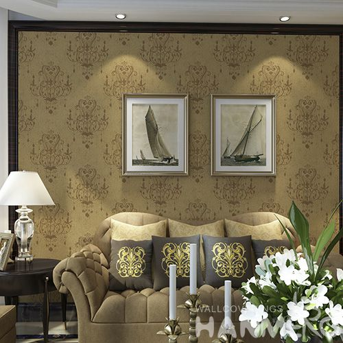 HANMERO Affordable Room Design Home Decor Wet Embossed Wallpaper for Office Hotels Wallcovering Designer Latest