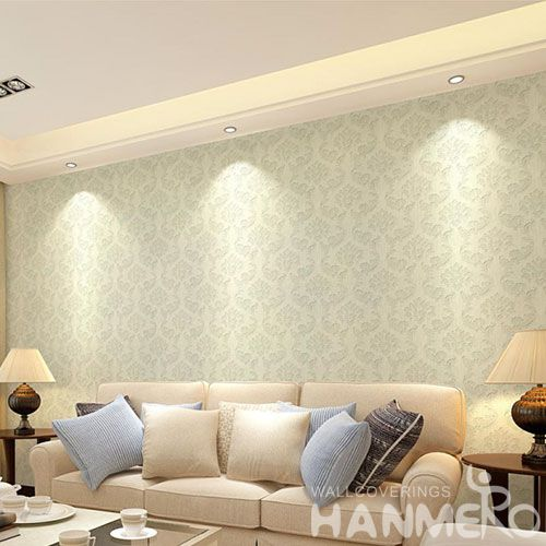 HANMERO Eco-friendly Strippable Home Decoration Wallcovering Wet Embossed  Wallpaper with Wholesale Price Latest Designs