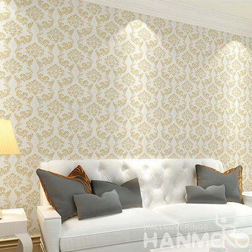 HANMERO Newest Fancy Simple Design Wet Embossed Wallcovering Latest Wallpaper Ideas for Hotel Nightclub Wall Decor Hot Selling