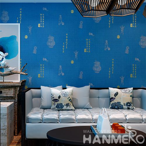 HANMERO Latest Unique Discount Wet Embossed Wallpaper with Top-grade Quality for Wall Decor from Chinese Wholesaler
