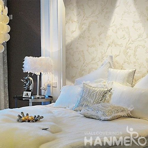 HANMERO Modern Simple Design  Wet Embossed Wallpaper Room Decoration Wallcovering Wholesaler with Competitive Prices