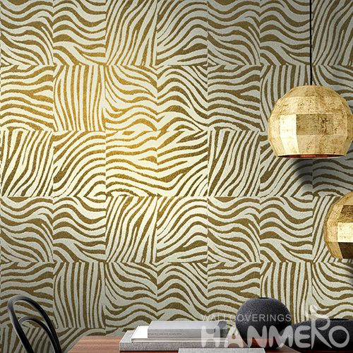 HANMERO Modern Designer Mica Wallpaper Bronzing Technology Wallcovering for Home Walls Wholesale Prices