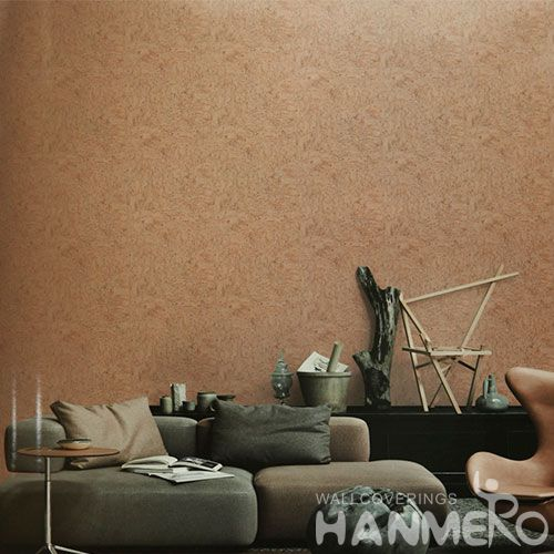 HANMERO Removable Chinese Supplier Natural Material Cork Wallpaper for Luxury Home Decoration CE Certificate