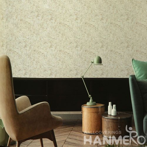 HANMERO Modern Household Decor Cork Patterned Wallpaper for Bedroom Professional Chinese Wallcovering Exporter
