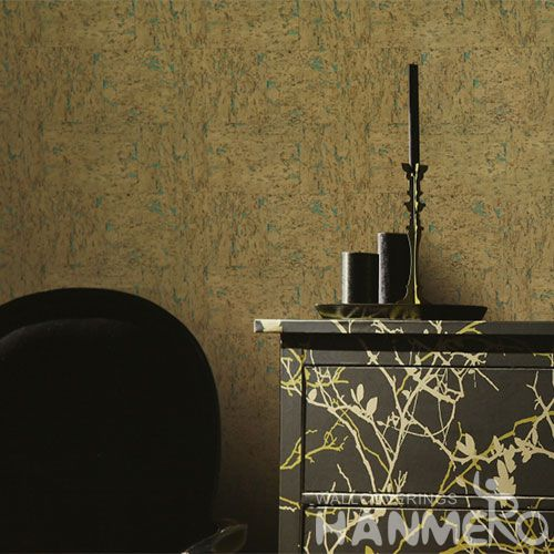 HANMERO Modern Style Cool Design Cork Wallpaper Best Prices from Chinese Wallcovering Dealer Living Room Bedroom