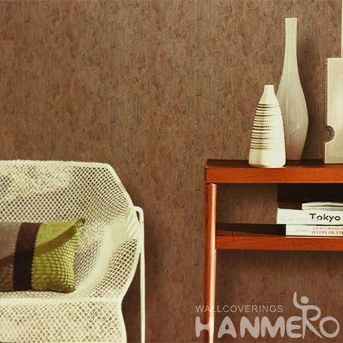 HANMERO Chinese Simple Design Cork Wallcovering Home Office Walls Modern Wallpaper Ideas Professional Wholesaler