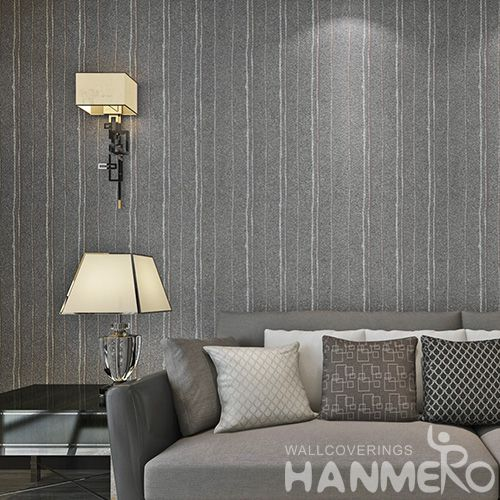 HANMERO Hot Selling Good design and Best Prices Home Decor Plant Fiber Particle Wallpaper from Chinese Supplier