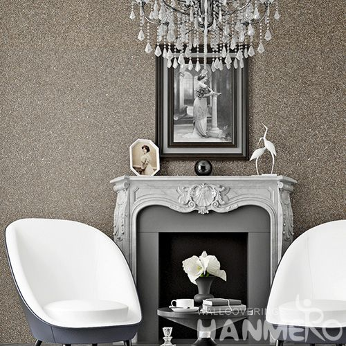 HANMERO High-end Natural Material Plant Fiber Particle Wallpaper for Living Room Interior Wall Decoration for Wholesale from China
