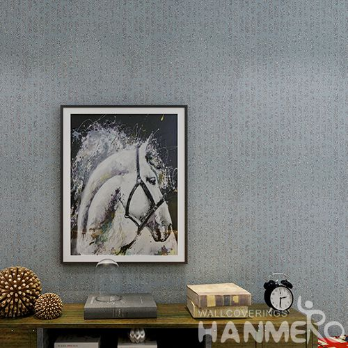 HANMERO 0.53 * 10M / Roll Household Decor Plant Fiber Particle Wallpaper with Unique Style Wholesale Prices and Excellent Quality