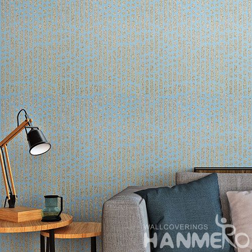 HANMERO New Fashion Plant Fiber Particle Wallpaper With Unique Technology for Household Decoration from China