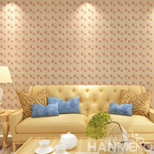 HANMERO 0.53 * 10M / Roll Fashionable Design Gilding Wallpaper Home Interior Decoration Wallcovering Distributors China Chinese