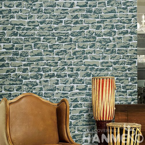 HANMERO Hot Sex 3D Brick Effect Sandstone Particle Wallpaper in Modern Style at Wholesale Prices