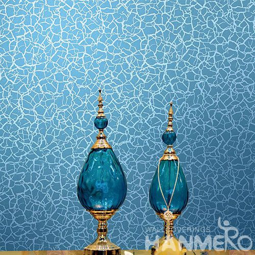 HANMERO Blue Beads Modern Wallcovering Nature Sense Household Decor Cheap Wallpaper Special Designs 0.53 * 10M Hot Selling