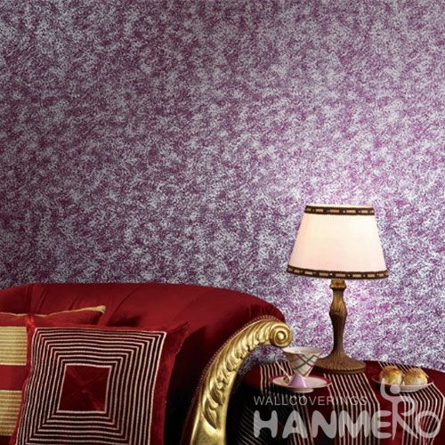 HANMERO Modern Style Nature Purple Color Beads Wallcovering 0.53 * 10M / Roll Hallways Lobby Decor Royal Home Interior Wallpaper