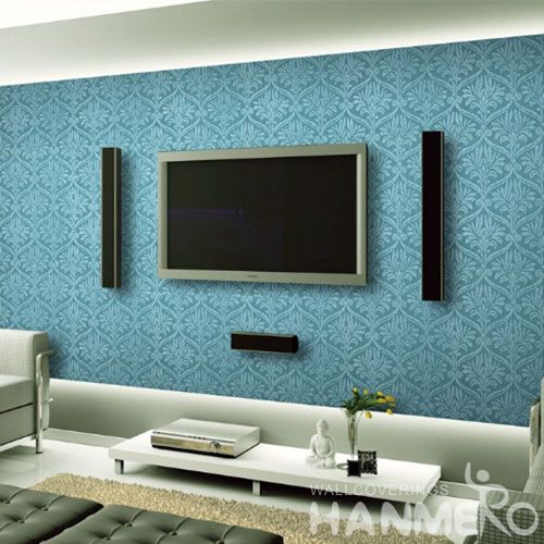 HANMERO Strippable Sitting Room Decorating Wallpaper Interiors Homes 0.53 * 10M / Roll Beads Wallcovering from Professional Supplier