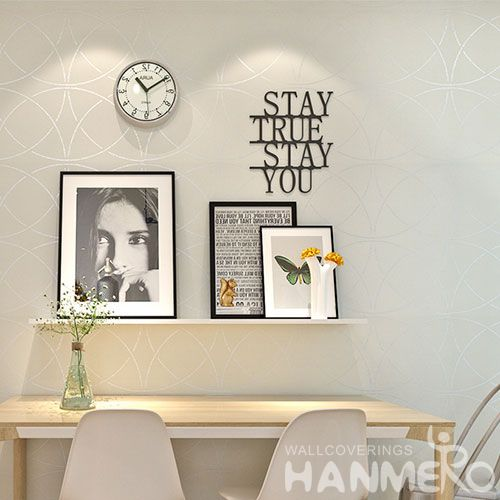 HANMERO Modern Gilding Elegant Home Decoration Nature Wallpaper Manufacture from China Excellent Service Household Decor
