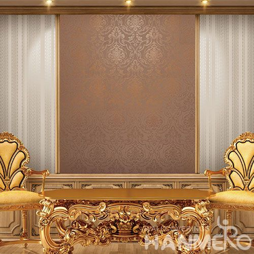 HANMERO Decorative Interior Gilding Wallcovering Manufacturer Beauty Decoration Wallpaper Wholesale Trader Factory Sell Directly