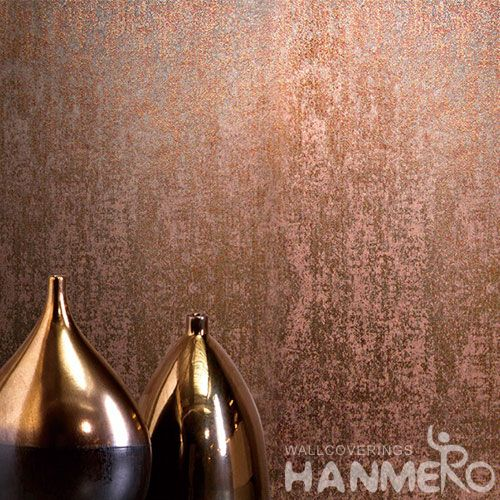 HANMERO Brown Color Removable Natural Gilding Royal Home Interior Wallpaper Chinese Wallcovering Store High Quality