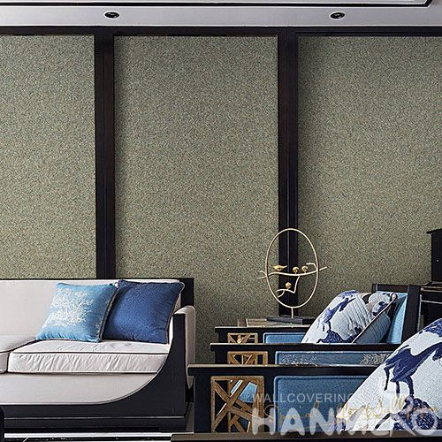 HANMERO New High-end Plant Fiber Particle Wallpaper 0.53 * 10m / Roll for Living Room Bedroom Walls