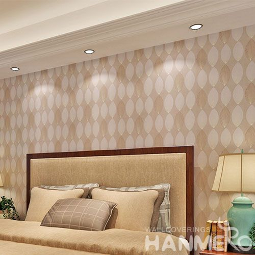 HANMERO Latest High-end High Quality Wallpaper for Home with Leaf Textured Hot Sale Online Shopping Bronzing Technology Wallcovering