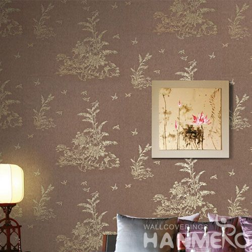 HANMERO Hot Sex Striped Wallpaper for Sale Household Room Bronzing Wallcovering Competitive Prices from Chinese Dealer